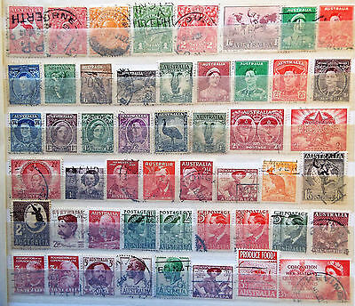 600 Different Australia Stamps Instant Collection