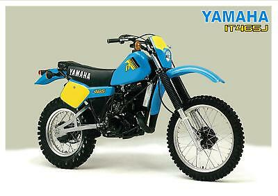 YAMAHA Poster IT465 IT465J 1982 VMX Enduro Suitable to Frame