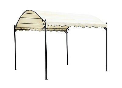 New Outdoor 4x3M Canopy Gazebo Wedding Party Sunshade Marquee Awning Event White