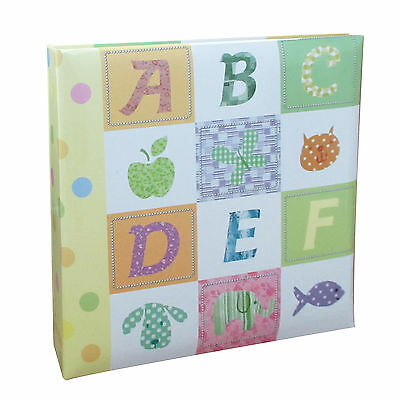 6x4'' Baby Alphabet/Number Photo Album Slip in Case for 200 Photos -  CY5555