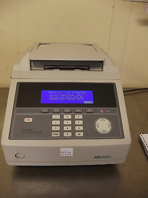 AB GeneAmp 9700 96 Well Thermal Cycler-Powers Up-Works Good-Very Nice Unit-m1255
