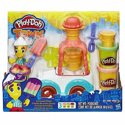 New Hasbro Play-Doh Playdoh Town Ice Cream Icecream Truck B3417
