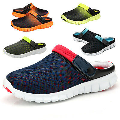 Summer Men Women Fashion Breathable Sandals Slippers Hollow-Out Mesh Shoes NEW