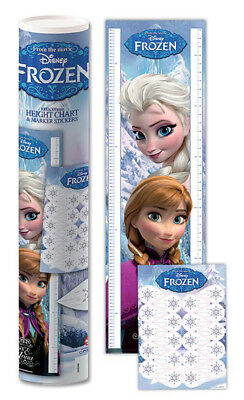 Messleisten - Frozen - Anna & Elsa Disney Eiskönigin 30x100 cm - height chart