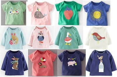 Baby Boden cotton applique tee top patchwork animals new 0 months -3 years girls