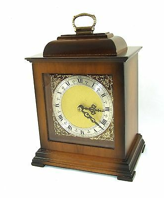 FRANZ HERMLE & SOHN FHS Bracket Mantel Clock Striking on Hours & Half Past