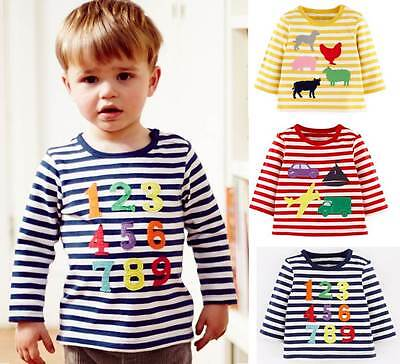 Mini Baby Boden boys fun applique tee top shirt new ages 0 months - 3 years