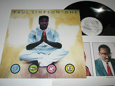 LP/PAUL SIMPSON/ONE/Chrysalis 210191 +OIS