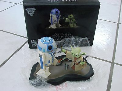 Gentle Giant Star Wars Animated Yoda & R2D2 Limited Edition