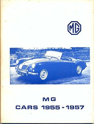 MG Cars 1955-1957 MGA Magnette  -  VERY USEFUL BROOKLANDS BOOK