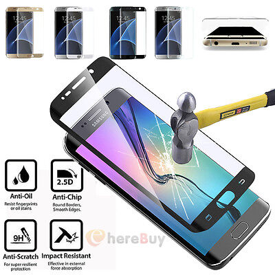 0.2mm Full Cover Tempered Glass Screen Protector For Samsung Galaxy S6/S7 Edge/+