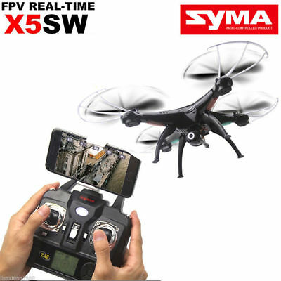 Syma X5SW Explorers RC Quadcopter Drone Camera WIFI Android iphone+3 Batteries
