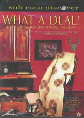 What A Deal! - Secrets To Buying And Selling At An Antique Flea Market New Dvd