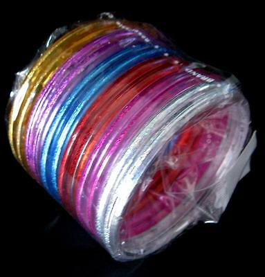 Bulk Pack of 12 Girls Small Size Acrylic Bracelets Bangles New Party Favors
