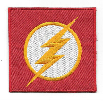 DC Comics The Flash TV Series Chest Logo Embroidered Patch, NEW UNUSED