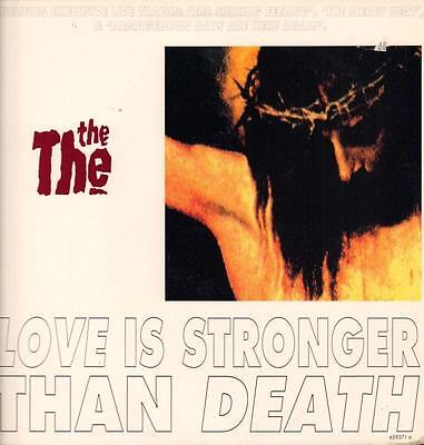 """The The(12"""" Vinyl)Love Is Stronger Than Death-Epic-6593716-UK-1993-Ex+/NM"""
