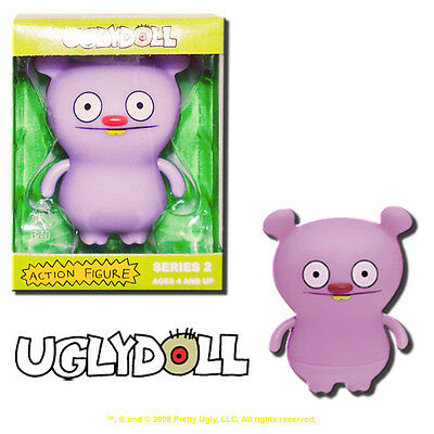 Uglydoll Action Figures Series 2 Trunko Purple 3-Inch Vinyl Toy - Pretty Ugly