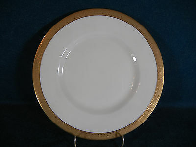 "Royal Doulton Holyrood H2901 Heavy Gold Edge 8 3/4"" Round Luncheon Plate(s)"