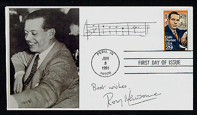 Roy Newsome d 2011 signed autograph First Day Cover British Conductor & Composer