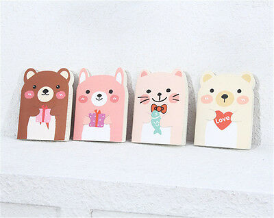 1pcs Korean Stationery Lovely Bear Diary Notebook Organizer Students Gift New