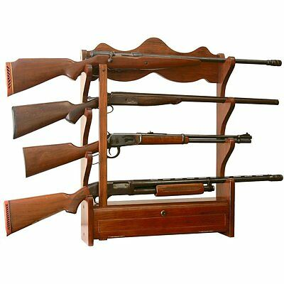 American Furniture Classics 4 Gun Wall Rack 840 NEW