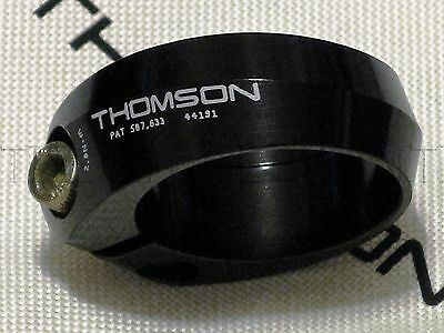 NEW Thomson Bicycle/Bike Seatpost Collar Clamp - 29.8mm Black - Made in the USA