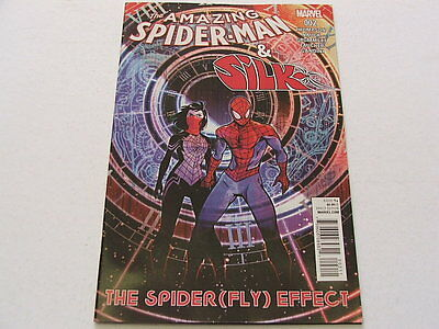 Amazing Spider-Man And Silk The Spiderfly Effect 2 (Marvel Comics) Jun 2016