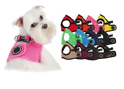 PUPPIA SOFT HARNESS VEST Step In Mesh Comfort Dog All Sizes Authentic -US SELLER