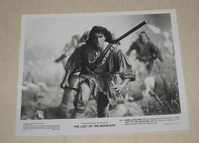 1991 Fox The LAST of the MOHICANS PROMO MOVIE PHOTO DANIEL DAY-LEWIS