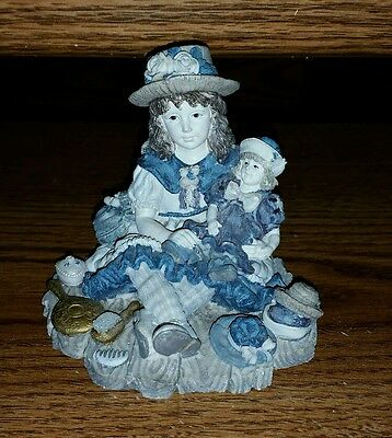 Boyds Bears Yesterday's Child Figurine Ashley with Chrissie I WANNA BE SERIES #2