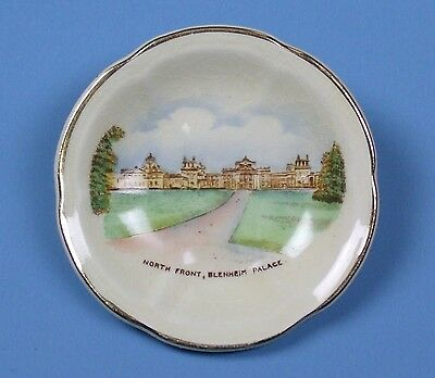 Vintage CROWN DEVON Miniature Plate BLENHEIM PALACE Fieldings ENGLAND