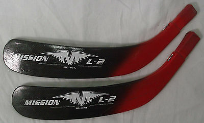 Mission L-2 Tapered Replacement Blade 2-pk Elias Jr/Intermediate Left-BRAND NEW