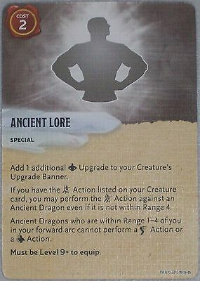 ANCIENT LORE Dungeons and Dragons D&D ATTACK WING Rage of Demons