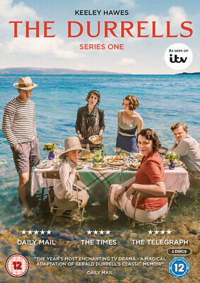 The Durrells: Series One DVD (2016) Keeley Hawes cert 12 2 discs ***NEW***