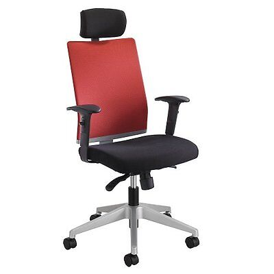 Tez Manager Chair- Headrest- Tabasco Red