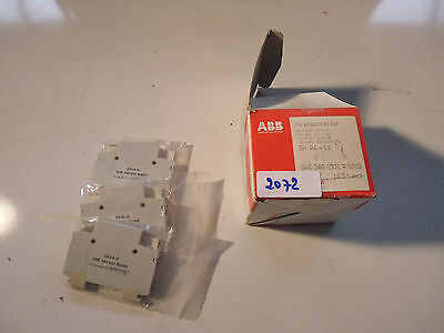 EH04-11 ABB contacts auxiliaires auxiliary switche Hilfsschalter 1NO 1NF lot:3x