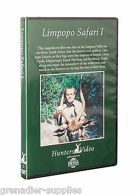 Limpopo Safari I Hunters Video Hunting Dvd