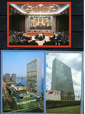 United  Nations Lot Of 10  1989   First Day Canceled Post Cards