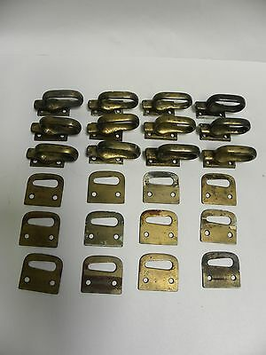 "Unique Lot ""12"" Vintage Antique Metal Window Sash Locks"