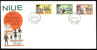 1977 Niue Dental Medical Cover S34