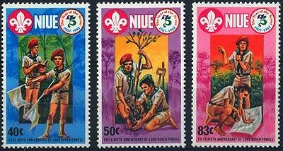 1983 Niue Boy Scout Stamp S41