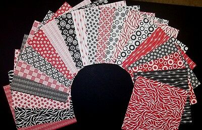 "**MONO** 20 Colourful Scrapbooking/Cardmaking Papers *15cm x 15cm* (6"" x 6"")"