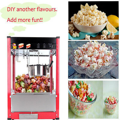 Commercial Luxury Red 8oz Popcorn Machine Pop Corn Popper Maker Snack Party