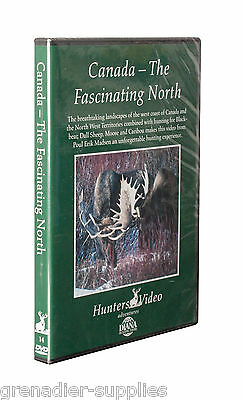Canada - The Fascinating North Hunters Video Hunting Dvd