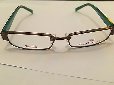 Girls Laura Ashley Glasses In A Honor Roll Caramel Mint Design NEW RRP £79