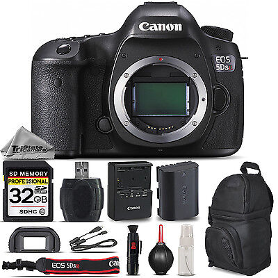 Canon EOS 5DS R / 5DSR 50.6 MP Digital SLR Camera Body - Essential Kit Bundle