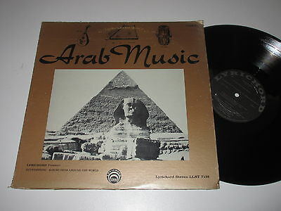 LP/ARAB MUSIC Vol.2/Lyrichord LLST 7198