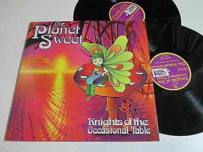 "2x12""/THE PLANET SWEET/KNIGHTS OF THE OCCASIONAL TABLE/MIDDL 2LP"