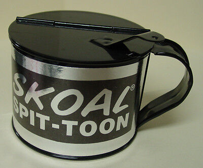 Skoal Spit-toon Metal with lid  - NEW