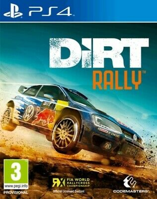 DiRT Rally (PS4) PEGI 3+ Racing: Off Road Highly Rated eBay Seller, Great Prices